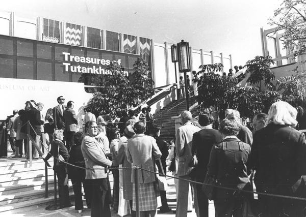 king tut exhibit 1970s