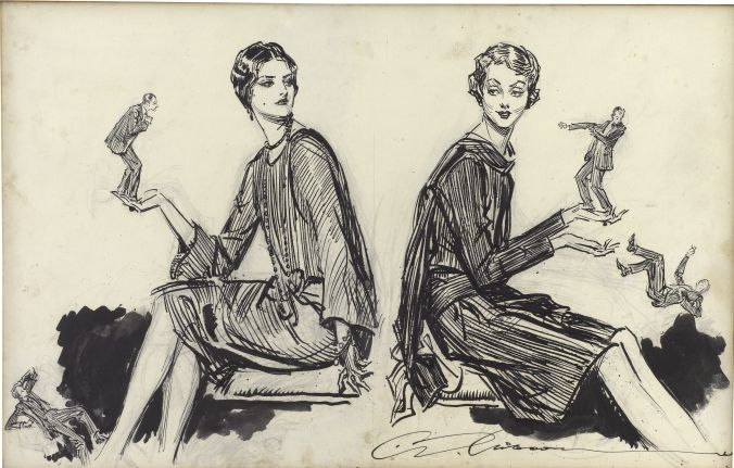 Flappers by Charles Dana Gibson
