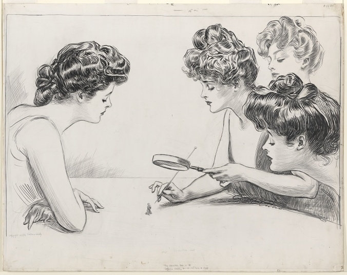 Gibson Girls The Weaker Sex by Charles Dana Gibson