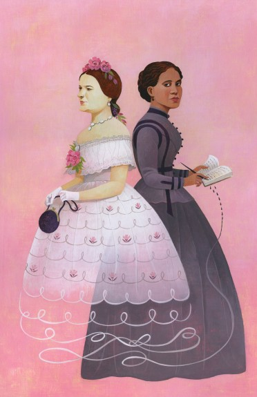 Mary Todd Lincoln and Elizabeth Hobbs Keckley