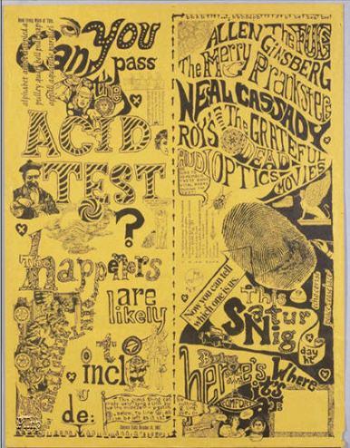 Acid Test Poster
