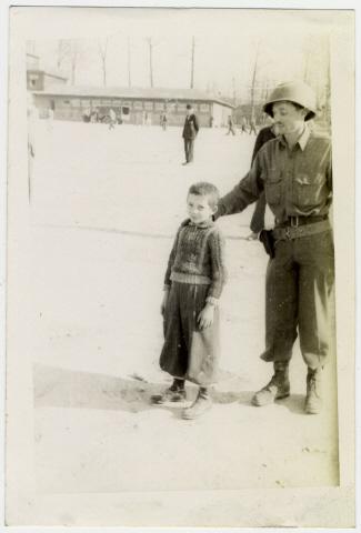 Young Buchenwald Survivor