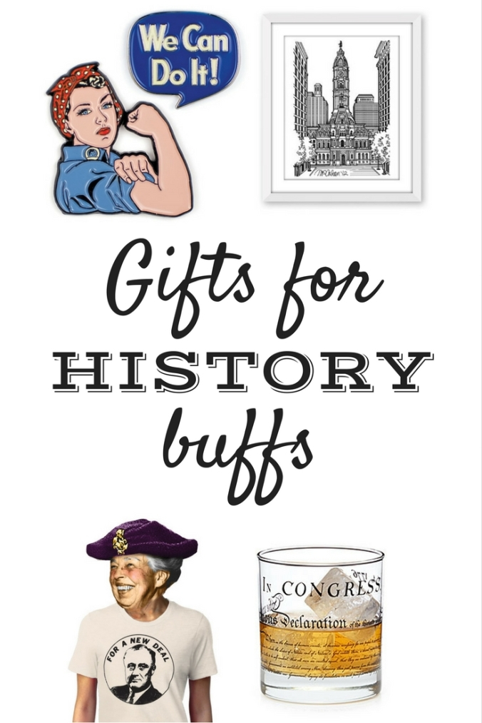 history buff gift guide