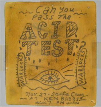 Acid Test Flyer