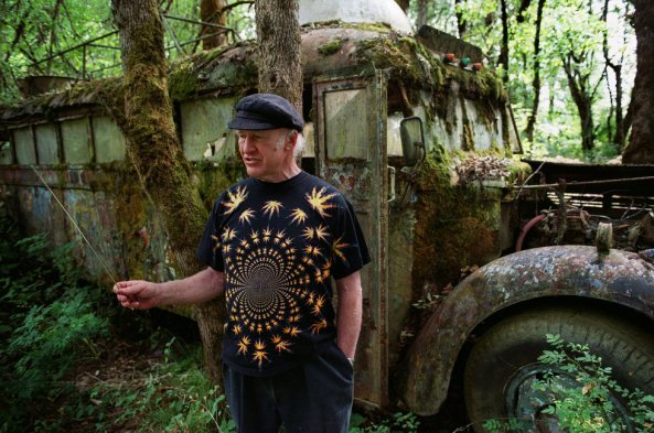Ken Kesey and the Furthur bus