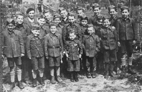 Young Buchenwald Survivors